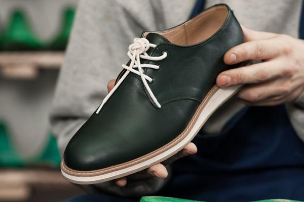 Schuhfertigung