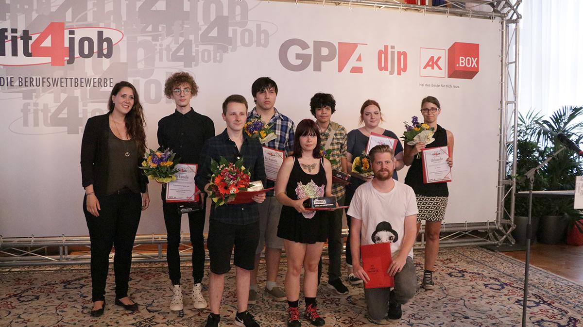 Preisträger Medienfachleute 1. Klasse