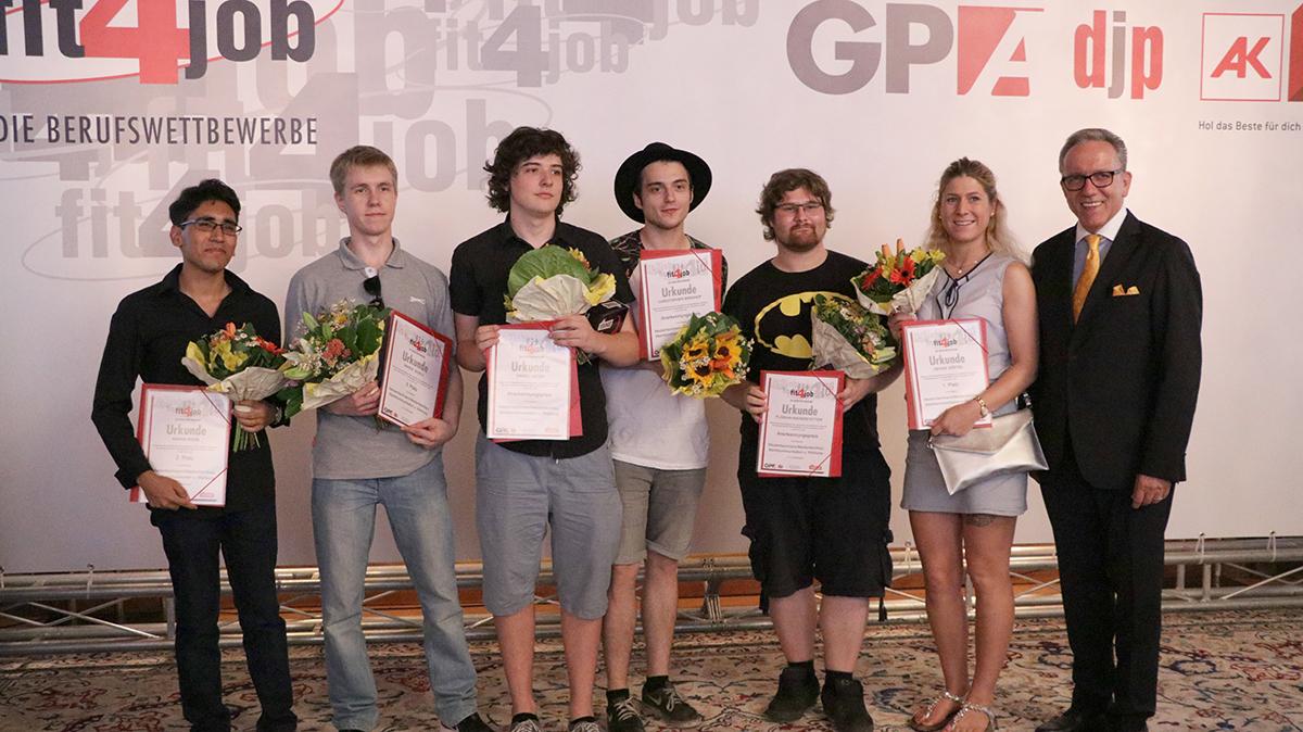 Preisträger Medienfachleute 3. Klasse